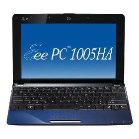 ASUS Eee PC 1005HA-PU1X-BU 10.1-Inch Blue Netbook