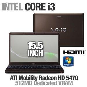 Sony VAIO VPCEB14FX/T 15.5-Inch Laptop