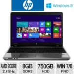 $500 HP ProBook 4545s C9K42UT 15.6″ Notebook PC w/ AMD Dual-Core A6-4400M 2.7GHz, 8GB DDR3, 750GB HDD, DVDRW, AMD Radeon HD 7520G, Windows 8 Pro @ TigerDirect