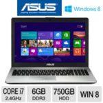 $671.99 ASUS N56VJ-WH71 15.6″ Laptop Computer w/ Intel Core i7-3630QM 2.4GHz, 6GB DDR3, 750GB HDD, DVDRW, Windows 8 @ TigerDirect.com