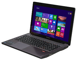 "Lenovo IdeaPad Z585 (59363062) 15.6"" Laptop w/ A8-4500M (1.9GHz), 4GB DDR3, 500GB HDD, 2GB Radeon 7670M, Windows 8"