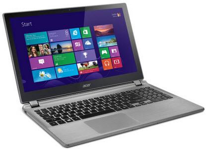 "Acer Aspire V5-572P-6858 15.6"" Touchscreen Laptop w/ i5-3337U 1.80GHz, 4GB, 500GB HDD"